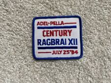 RAGBRAI Register's Annual Great Bike Ride Across Iowa - Cloth Patch, various yrs