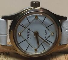 VINTAGE OREX ROSE COLLECTION ROMANIA MECHANICAL LADIES WATCH 19 RUBIS #199