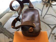 Louis Vuitton Monogram Pochette Gange Shoulder Bag Vintage Authentic CA0093
