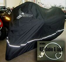 Honda Goldwing 1200 1500 1800 Motorcycle Cover w/Eagle Emblem.Easy On/Off. New