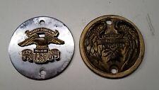 2 Vintage HARLEY-DAVIDSON Shovelhead Ironhead Points Cover Bobber Chopper