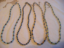 Unbranded Silver Plated Beaded Costume Necklaces & Pendants
