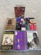 Dinosaur Jr Lot of 7 Cassette Tapes Bug, Green Mind, Fossils, Where You Been SST
