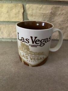 Starbucks LAS VEGAS Nevada 2008 Retired Coffee Mug Collector Series Been There