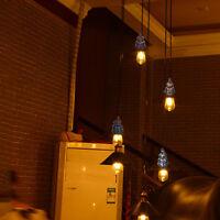 E27 Screw Ceiling Rose Light PVC Fabric Flex Pendant Lamp Holder Fitting Light
