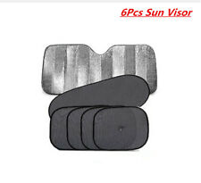 6PCS /SET Sun Shade Front Rear Window Car Visor Windshield Block Cover Foldable