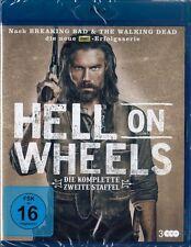 HELL ON WHEELS, Staffel 2 (3 Blu-ray Discs) NEU+OVP