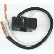 Outlet 2 Prong Blk 2 Wire Lead