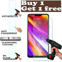 Premium Tempered Glass Screen Protector Film Cover For LG G7+ ThinQ