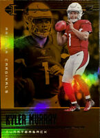 🔥 KYLER MURRAY RC ORANGE parallel 2019 Panini Illusions Refractor Rookie CLEAN!