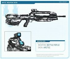 HALO 4 Arctic Weapon Skin DLC Code Xbox 360 *NEW!*