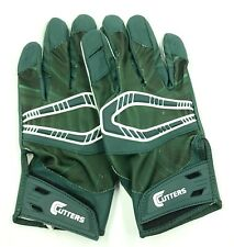 Cutters Adult Rev Pro Football Receiver Gloves Size Small Green White