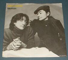 JOHN LENNON,YOKO ONO woman*beautiful boys 1980 UK GEFFEN PS 45