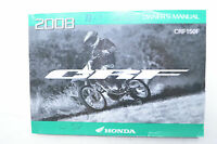 OEM Honda 31KPT650 2008 CRF 150F Owner's Manual