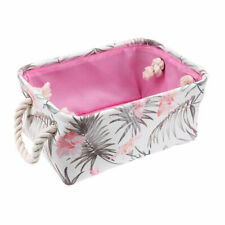 Foldable Storage Closet Toys Box Jewelry Container Organizer Basket with Handle