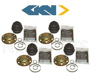 Rear Left Right Inner Outer CV Joint Axle Boots Kit Set 4 OE for Porsche 911 928