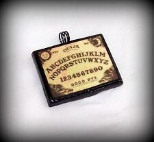 Handcrafted OUIJA BOARD Clay Pendant NEW HALLOWEEN