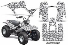 ATV Graphics Kit Quad Sticker Decal Wrap For Yamaha Breeze 125 89-04 DIGICAMO W