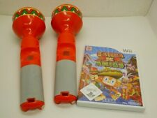!!! NINTENDO Wii SPIEL Samba de Amigo mit 2x Maracas GUT !!!
