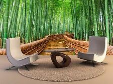 Bamboo Wall Mural Kyoto Japan Bamboo Forest Wall Paper Mural 3D Print Poster