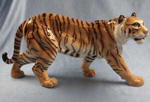 Tiger Hutschenreuther figure figura porzellanfigur Großer Tiger  Tigerfigur