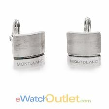 Montblanc Cufflinks Silver Collection Square 8691