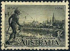 AUSTRALIE CENTENAIRE DE LA COLONISATION DE VICTORIA N° 96 OBLITERE A VOIR