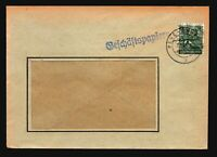 Germany 1948 Cover w/ 16 Pf Posthorn Overprint - Z14876