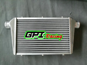 """Universal Aluminum turbo Intercooler 430X300X70 Inlet/ Outlet 3"""" Tube 76mm &Fin"""
