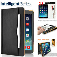 "For iPad 5th 9.7"" 2017 / iPad Pro 10.5"" Shockproof Leather Smart Cover Case+Film"