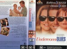 UNDERCOVER BLUES - Turner - VHS - PAL -NEW - Never played! - Original Oz release