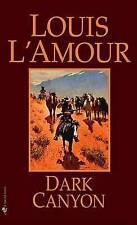 Dark Canyon by Louis L'Amour (Paperback, 1985)