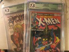 Wolverine 10  9.2 AND Uncanny X-Men 115 CGC 7.5 Chris Claremont SS marvel comics