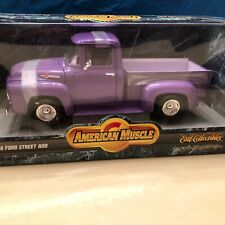 1956 FORD F-100 STEP SIDE PKP   ERTL COLLECTIBLES  1/18 AMERICAN MUSCLE SERIES