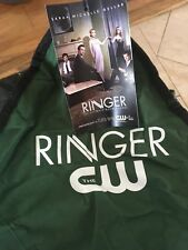 SARAH MICHELLE GELLAR (BUFFY) CW'S THE RINGER  PROMO FOLDING CAMP CHAIR BIN AUTO