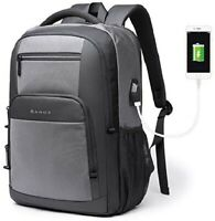 "Travel15.6"" Laptop Backpack Lightweight Durable Water Resistant USB Charging Bag"