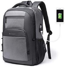 "Travel15.6"" Laptop Backpack Lightweight Durable Water Resistant USB Charging Bag"