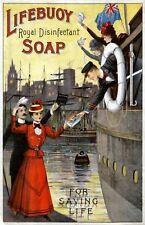 Lifebuoy Soap5 Vintage Advertising Art Print / Poster