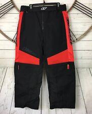 O'Neal Racing Apocalypse Motocross Shorts 34 Red Black Convertible Zip Off Legs