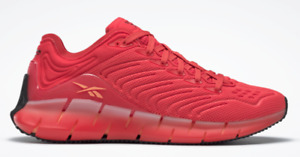 A-15  Reebok Zig Kinetica Radiant Red Running Shoes For Men Size 10