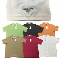 Calvin Klein Golf CK Fluid Cotton Polo Shirt M L XL - Tagged at £40