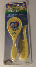 Vintage 1994 Flintstones Baby brush and comb Pebbles & Bam Bam Free Shipping