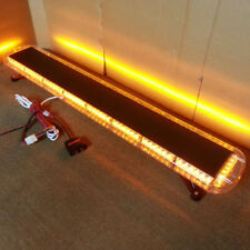 "53"" 108 LED (Amber) Emergency Warning LightBar Recovery Rescue Beacon LightBar"