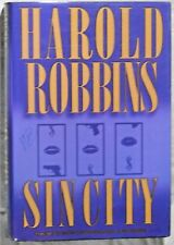 Sin City by Harold Robbins - hard cover - large print edition - looks new