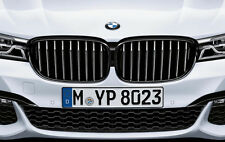 BMW OEM M Performance Black Kidney Grille SET   7-Series G11/12 2016+ 740i 750i