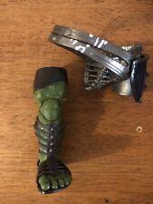 marvel legends gladiator hulk baf left leg parts thor ragnarok avengers lot