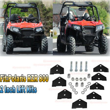 Fit Polairs RZR 800 UTV Front & Rear 2'' High Lift Kit High Grade Steel