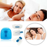 Hot Stop Snoring Mouthpiece Apnea Aid Sleep Anti Snore Bruxism Grind MouthGuard