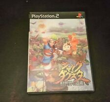 Jak and Daxter Playstation 2 Jap japan ps2 Sony