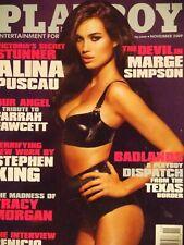 Playboy November 2009 Alina Puscau Kelley Thompson Marge Simpson #676+